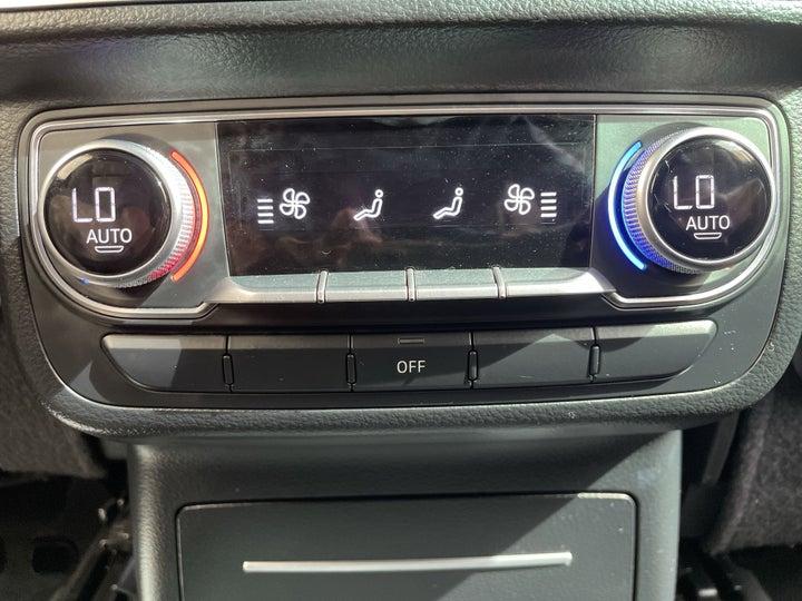 Audi Q7-REAR AC TEMPERATURE CONTROL