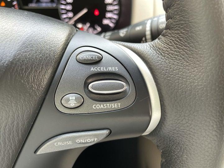 Nissan Pathfinder-CRUISE CONTROL