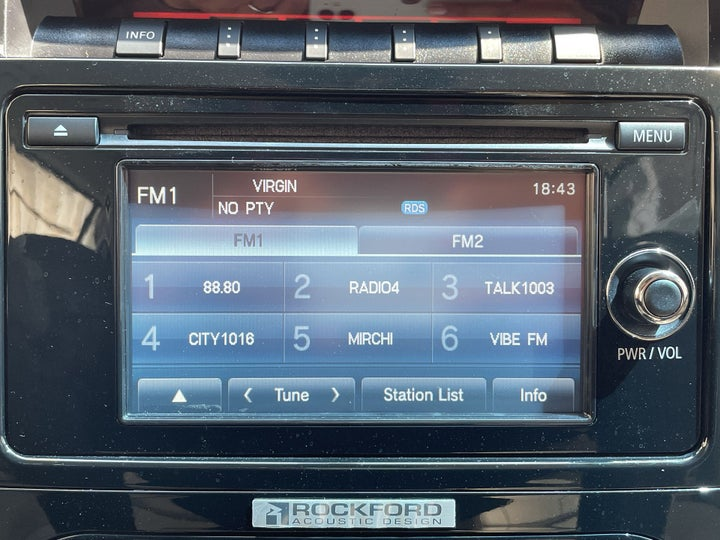 Mitsubishi Pajero-INFOTAINMENT SYSTEM
