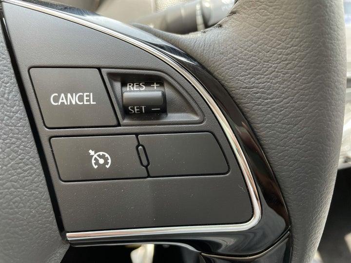 Mitsubishi Attrage-CRUISE CONTROL