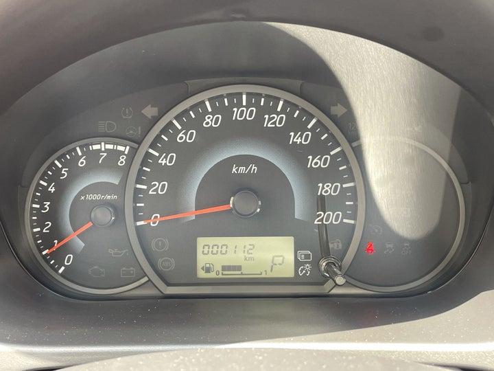 Mitsubishi Attrage-ODOMETER VIEW