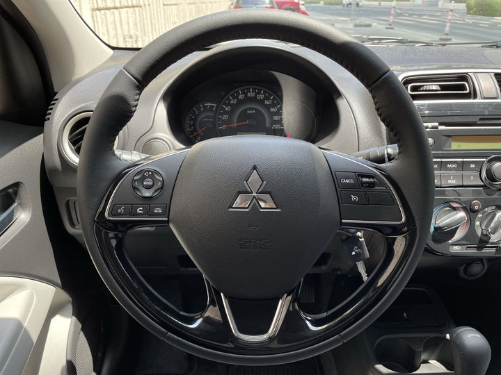 Mitsubishi Attrage-STEERING WHEEL CLOSE-UP