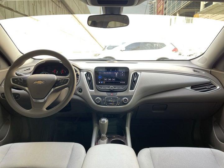 Chevrolet Malibu-DASHBOARD VIEW
