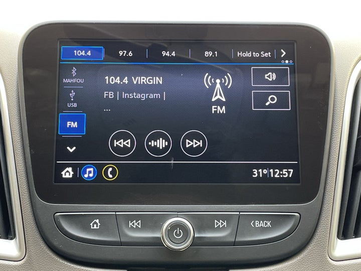 Chevrolet Malibu-INFOTAINMENT SYSTEM