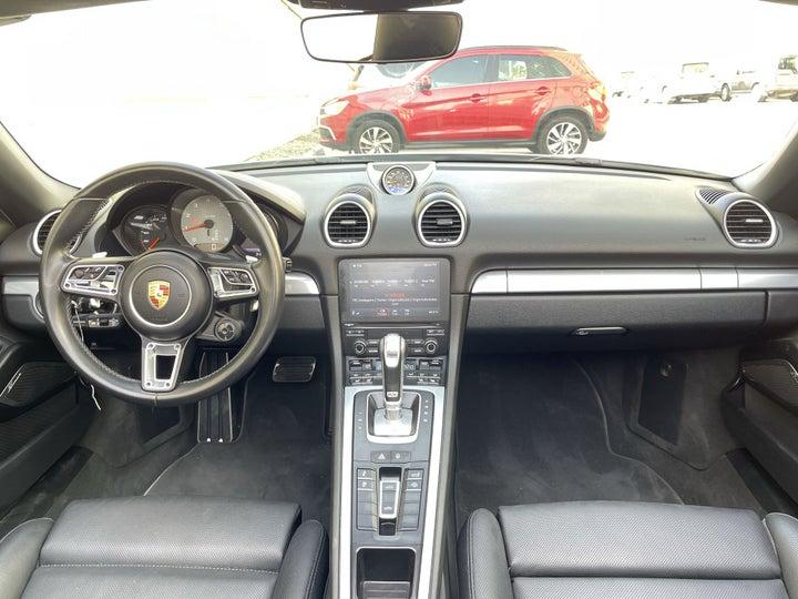 Porsche Boxster-DASHBOARD VIEW