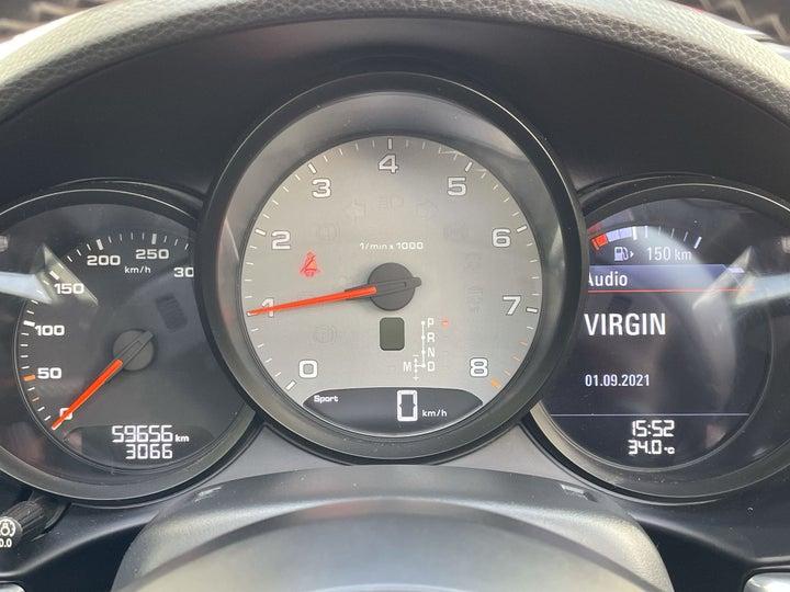 Porsche Boxster-ODOMETER VIEW