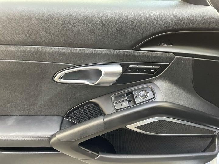 Porsche Boxster-DRIVER SIDE DOOR PANEL CONTROLS