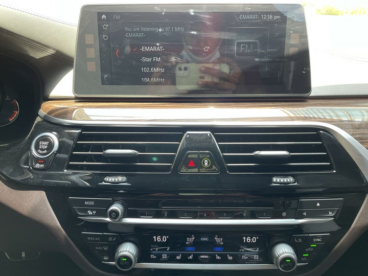 BMW 5 Series-CENTER CONSOLE