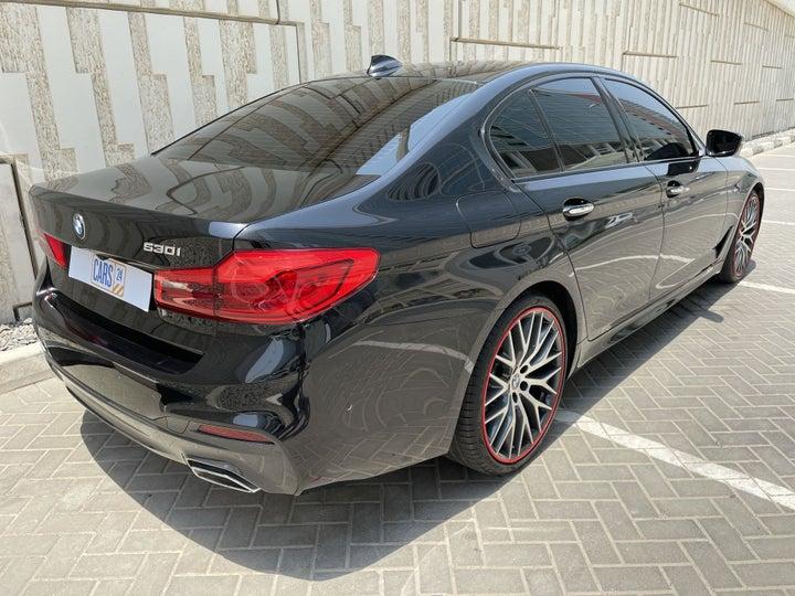 BMW 5 Series-RIGHT BACK DIAGONAL (45-DEGREE VIEW)