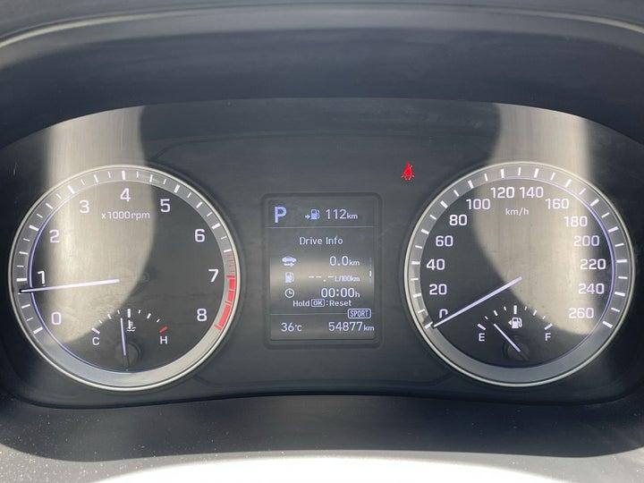 Hyundai Sonata-ODOMETER VIEW