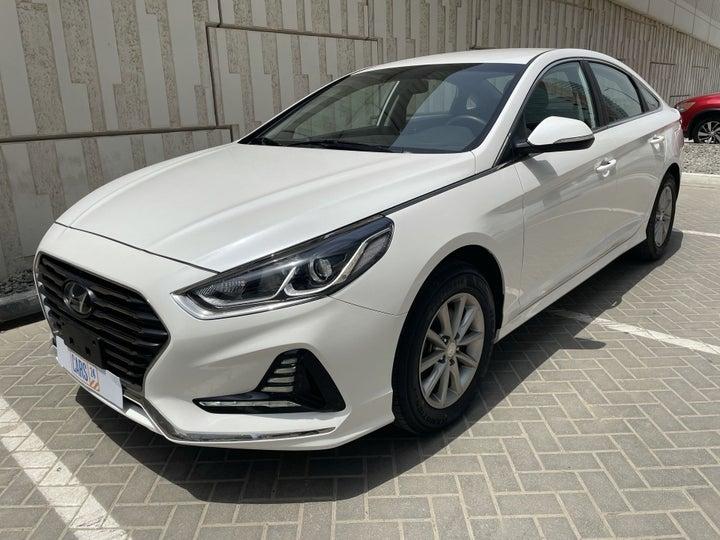 Hyundai Sonata-LEFT FRONT DIAGONAL (45-DEGREE) VIEW