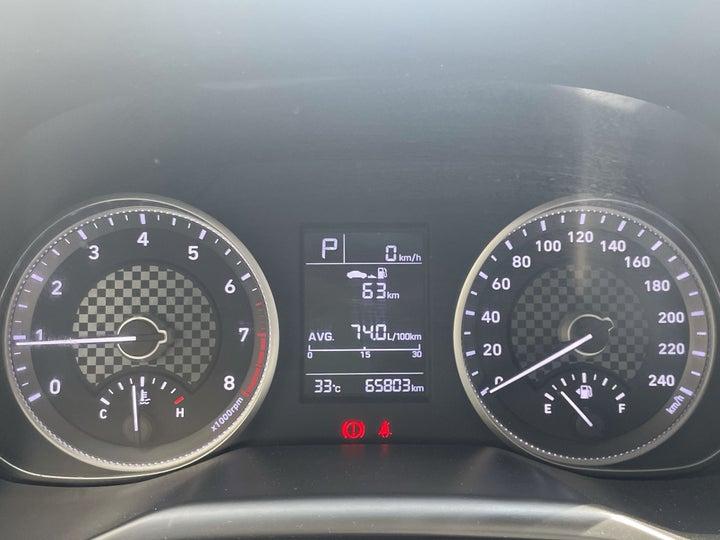 Hyundai Elantra-ODOMETER VIEW