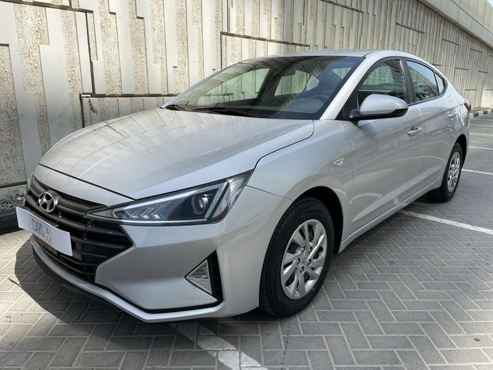 Hyundai Elantra-LEFT FRONT DIAGONAL (45-DEGREE) VIEW