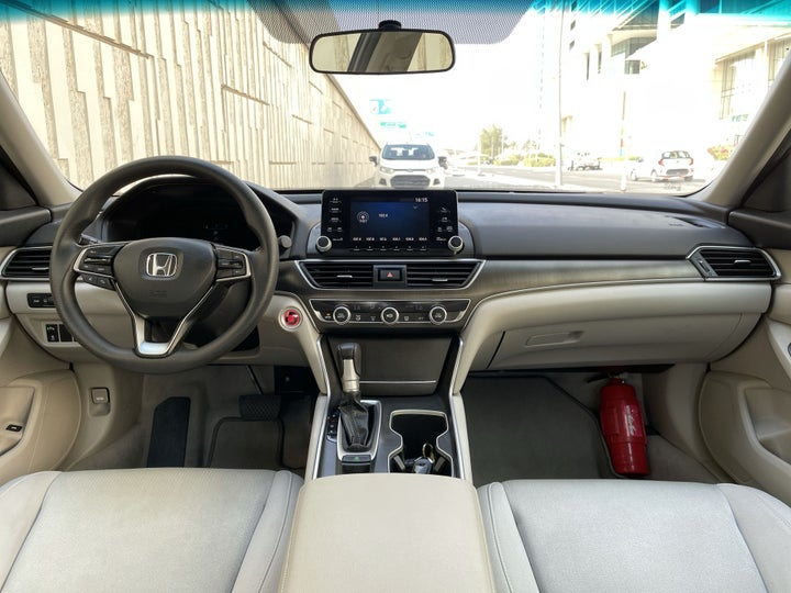 Honda Accord-DASHBOARD VIEW
