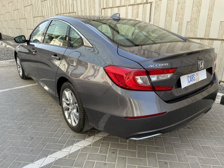 Honda Accord-LEFT BACK DIAGONAL (45-DEGREE) VIEW