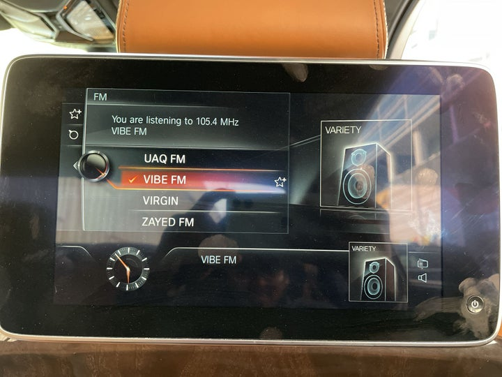 BMW 7 Series-DISPLAY SCREEN FOR REAR PASSENGERS