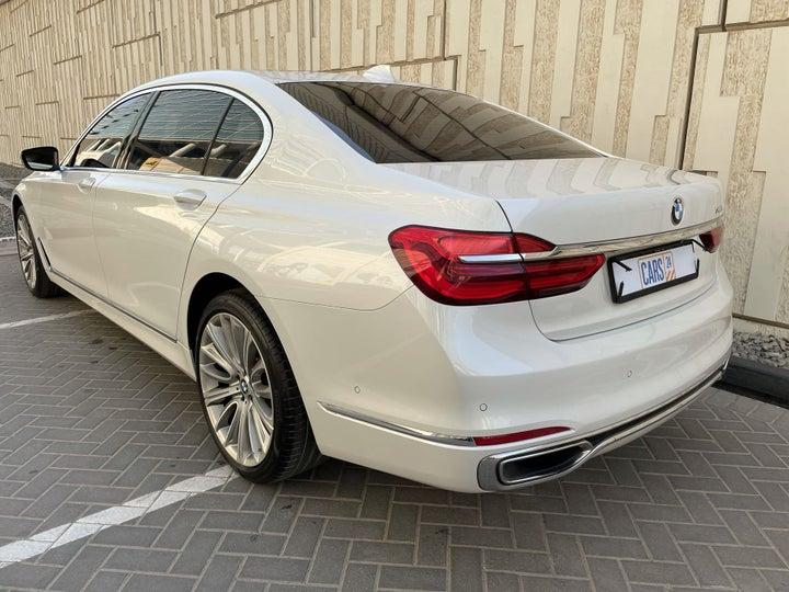 BMW 7 Series-LEFT BACK DIAGONAL (45-DEGREE) VIEW