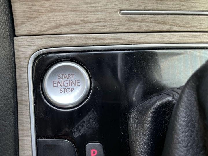 Volkswagen Passat-KEYLESS / BUTTON START