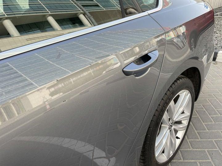 Volkswagen Passat-Left Rear Door Multiple Dents/No Paint Damage (PDR-2 dents)
