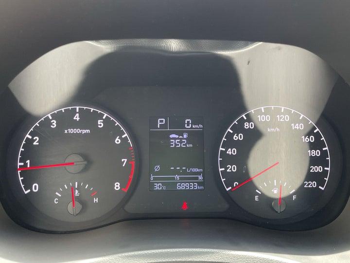 Hyundai Accent-ODOMETER VIEW