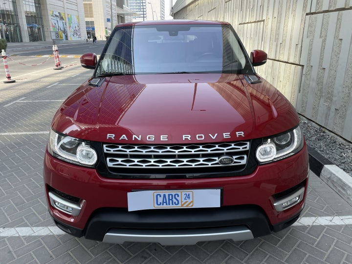 Land Rover Range Rover Sport-FRONT VIEW