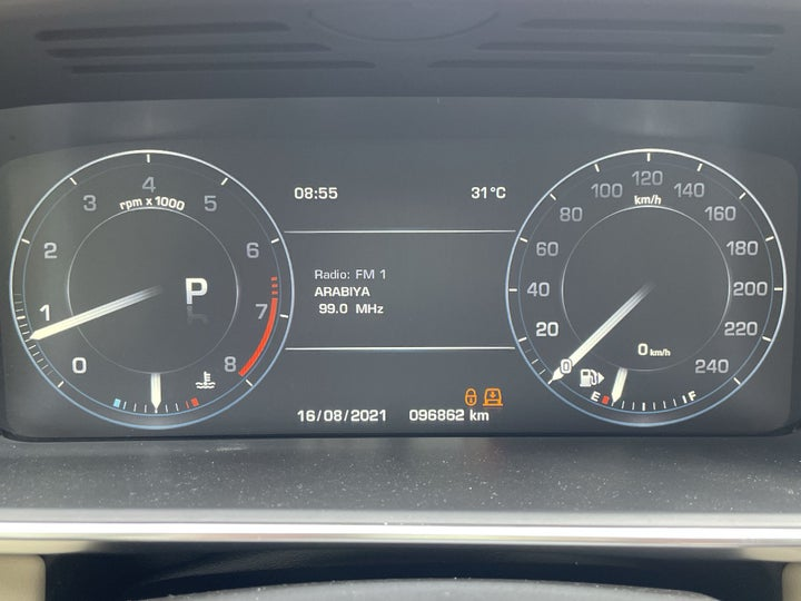 Land Rover Range Rover Sport-ODOMETER VIEW