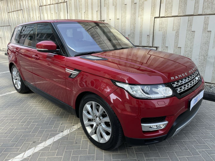 Land Rover Range Rover Sport-RIGHT FRONT DIAGONAL (45-DEGREE) VIEW