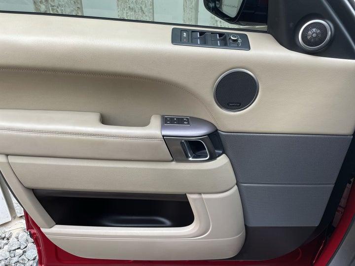 Land Rover Range Rover Sport-DRIVER SIDE DOOR PANEL CONTROLS