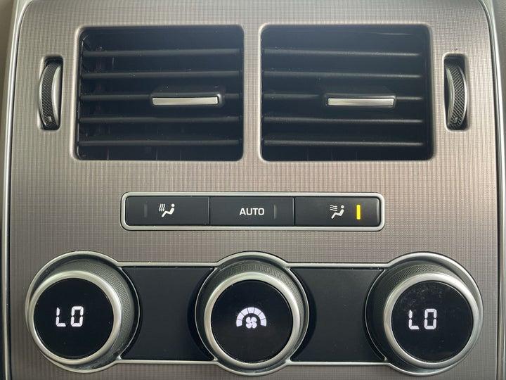 Land Rover Range Rover Sport-REAR AC TEMPERATURE CONTROL