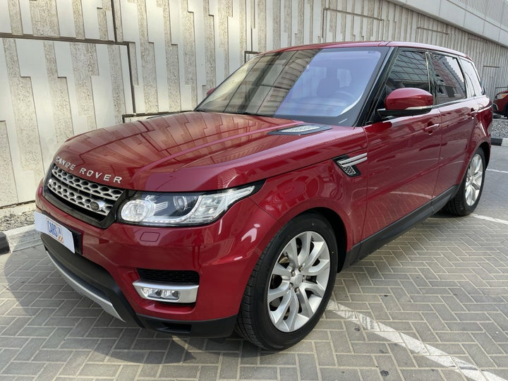 Land Rover Range Rover Sport-LEFT FRONT DIAGONAL (45-DEGREE) VIEW