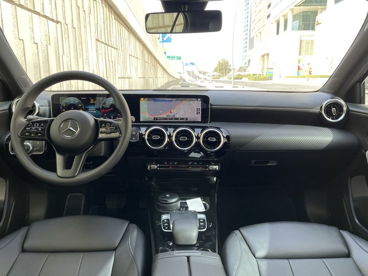 Mercedes Benz A-Class-DASHBOARD VIEW