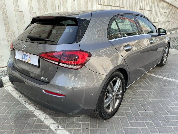 Mercedes Benz A-Class-RIGHT BACK DIAGONAL (45-DEGREE VIEW)