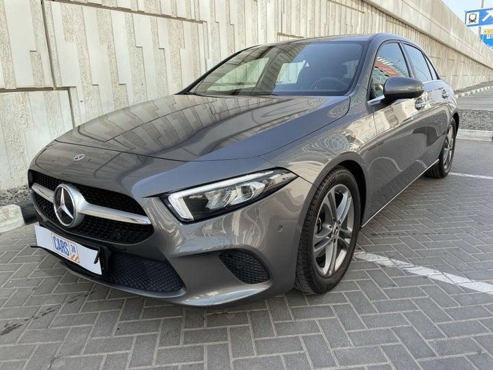 Mercedes Benz A-Class-LEFT FRONT DIAGONAL (45-DEGREE) VIEW