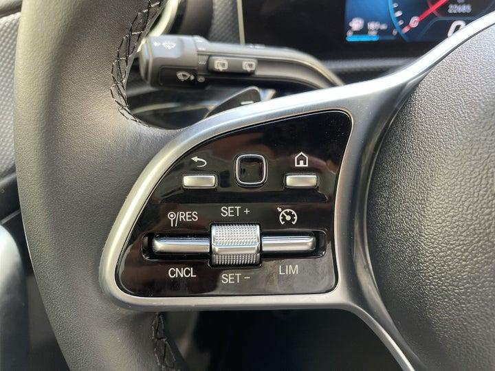 Mercedes Benz A-Class-CRUISE CONTROL