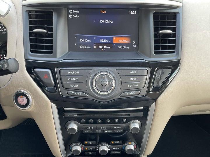 Nissan Pathfinder-CENTER CONSOLE