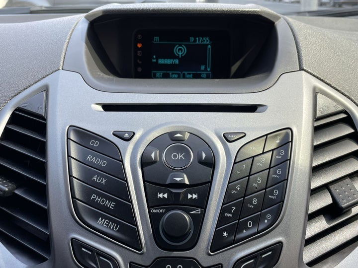 Ford EcoSport-INFOTAINMENT SYSTEM