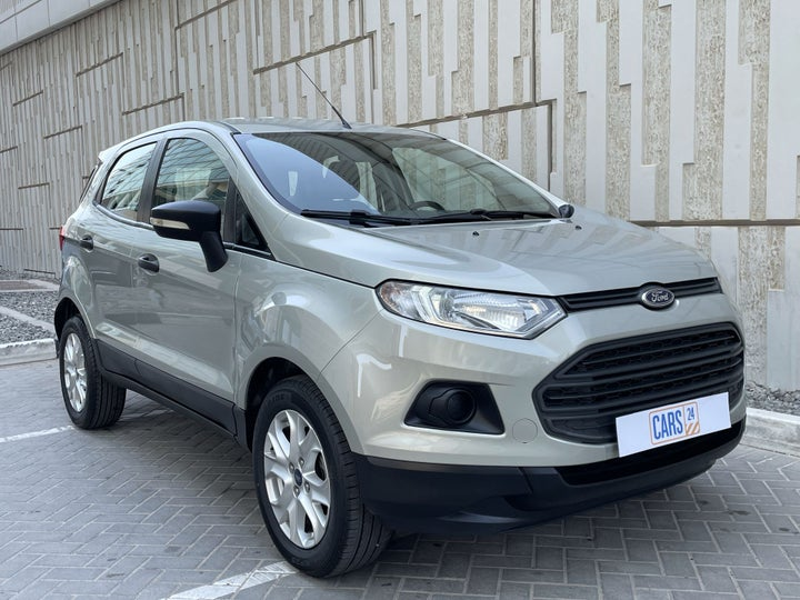 Ford EcoSport-RIGHT FRONT DIAGONAL (45-DEGREE) VIEW