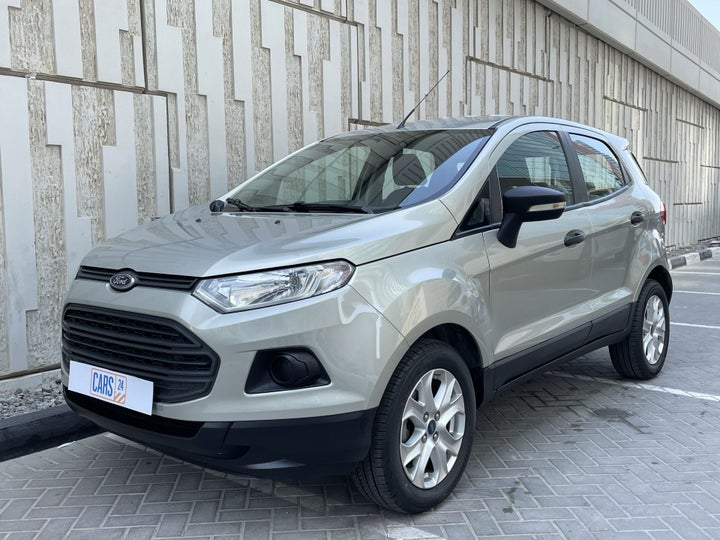 Ford EcoSport-LEFT FRONT DIAGONAL (45-DEGREE) VIEW