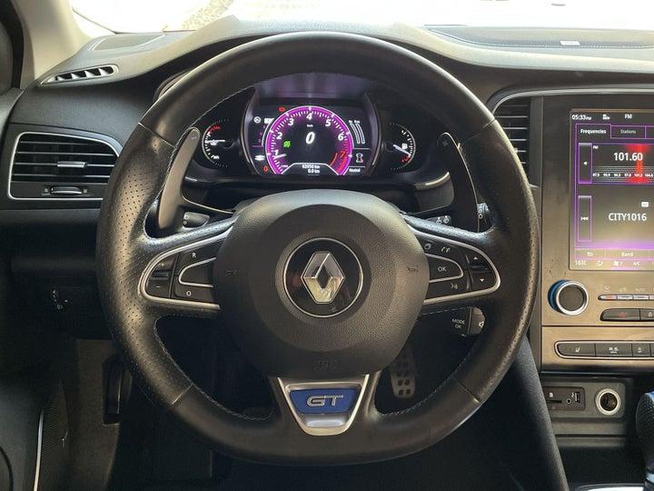 Renault Megane-STEERING WHEEL CLOSE-UP