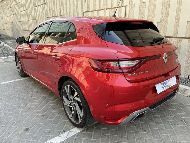Renault Megane-LEFT BACK DIAGONAL (45-DEGREE) VIEW