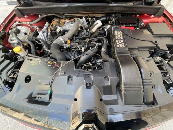 Renault Megane-OPEN BONNET (ENGINE) VIEW