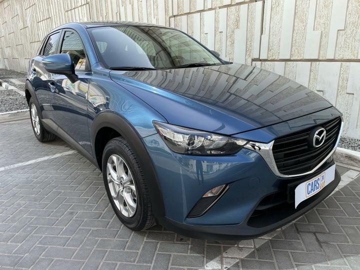 Mazda CX 3-RIGHT FRONT DIAGONAL (45-DEGREE) VIEW