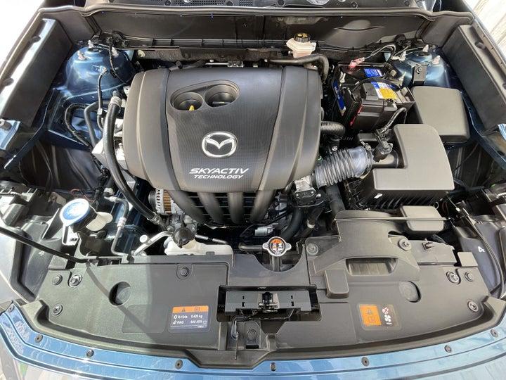 Mazda CX 3-OPEN BONNET (ENGINE) VIEW