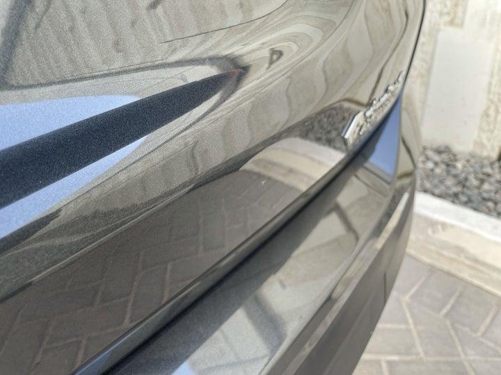 Chevrolet Equinox-Rear Bumper Light Scratch (1/2 to 1 inch)