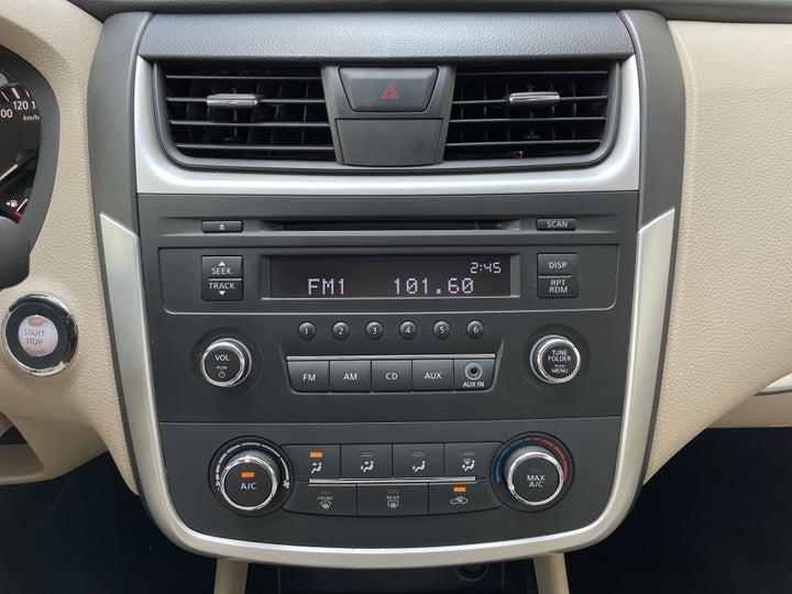 Nissan Altima-CENTER CONSOLE