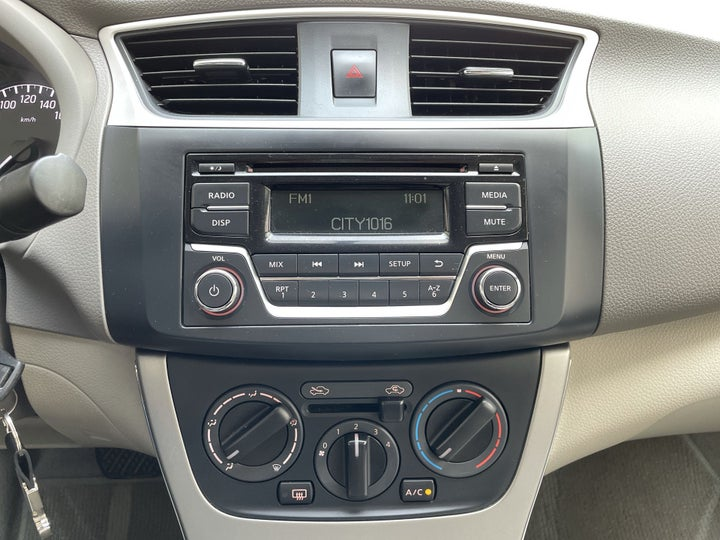 Nissan Sentra-CENTER CONSOLE