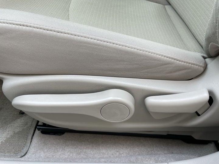 Nissan Sentra-DRIVER SIDE ADJUSTMENT PANEL