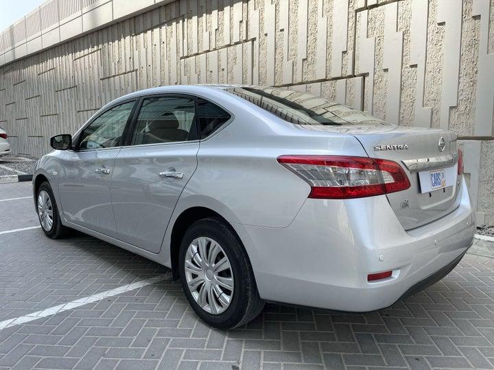 Nissan Sentra-LEFT BACK DIAGONAL (45-DEGREE) VIEW
