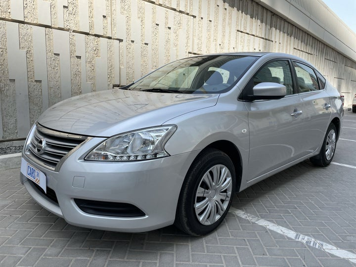 Nissan Sentra-LEFT FRONT DIAGONAL (45-DEGREE) VIEW