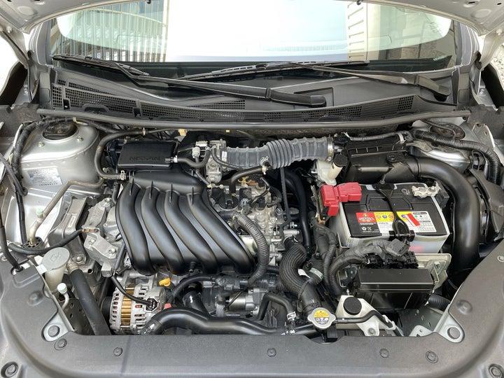 Nissan Sentra-OPEN BONNET (ENGINE) VIEW